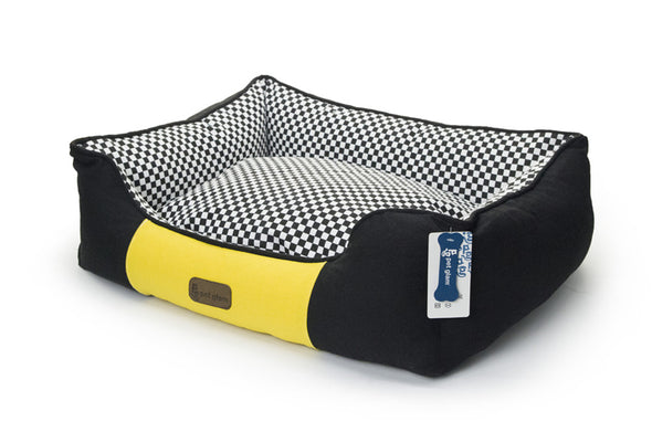 Racing Dog-Bed with Washable Cover-Small-Medium Breeds