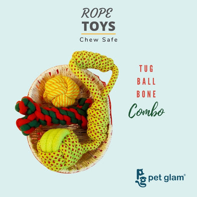 Rope Toy Combo-Starter 3 (Pack Of 3)