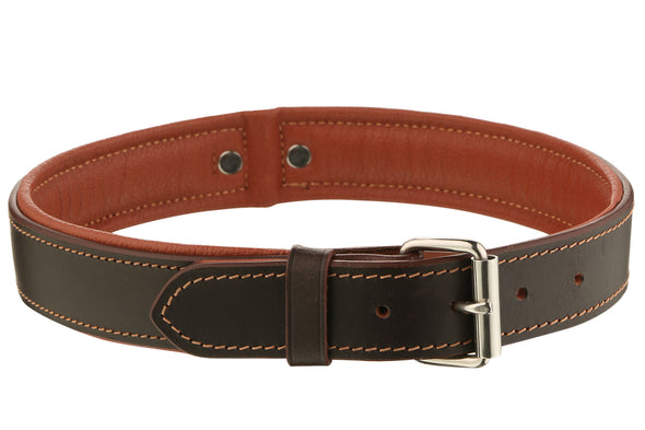 Pet Glam Leather Dog Collar Lyka Brown