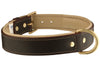 Leather Dog Collar Oreo Collar for large dog breeds