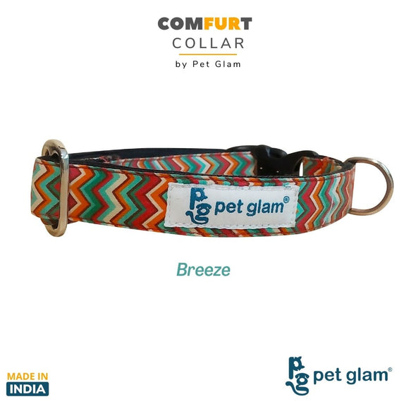 Dog Collar Breeze-ComFURt Collar for Labs, Golden Retrievers GSD Beagles Huskies Indies