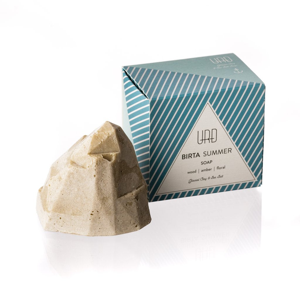 BIRTA summer soap is handmade. The soap is made from natural oils which leave the skin feeling soft and nourished
