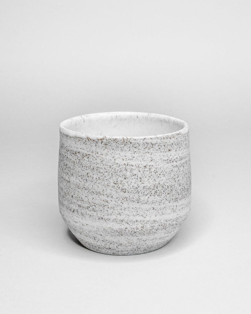 Lavala coffee cup showing ash texture