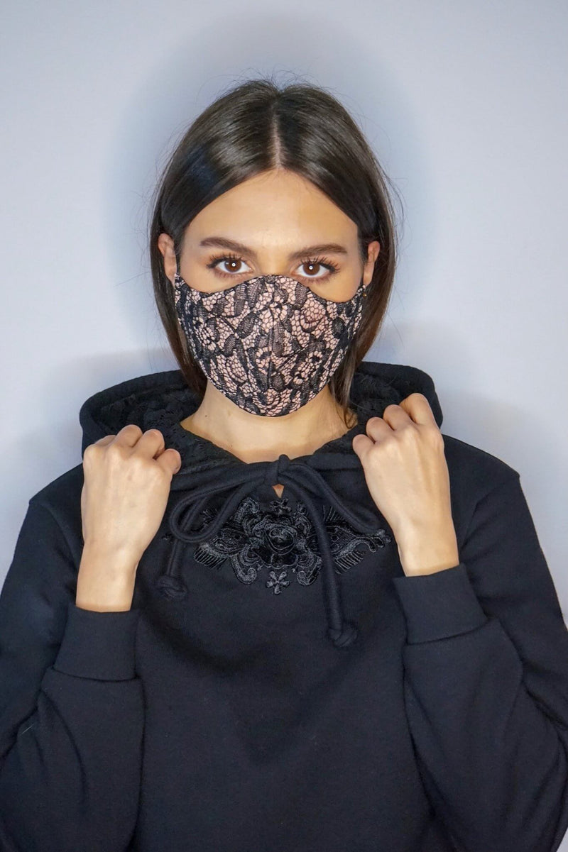Sienna Lace Mask