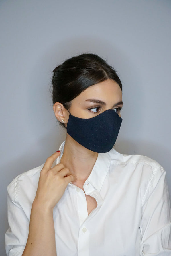 Midnight Blue Face Mask