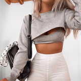 Cut-Out Pullover - TheGlamLab
