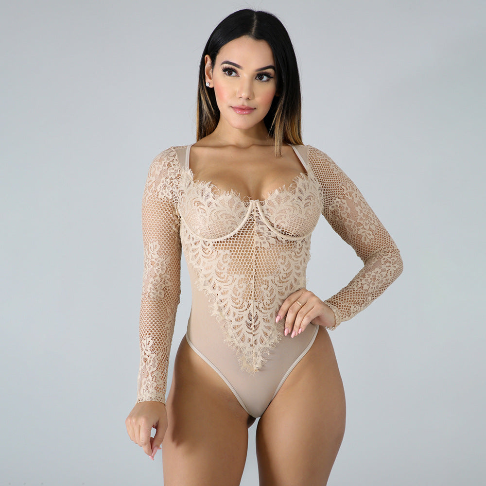 Lace Mesh Teddy