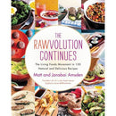 The Rawvolution Continues: the Living Foods Movement in 150 Natural and Delicious Recipes