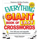The Everything Giant Book of Easy Crosswords - (Everything ) by Charles Timmerman (Paperback)