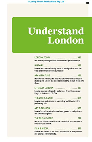 Lonely Planet London 10th Ed.: 10th Edition