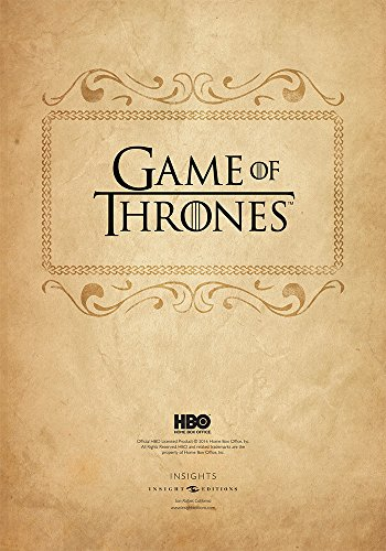 Game of Thrones: Deluxe Hardcover Sketchbook - (Insights Deluxe Sketchbooks) by Hbo