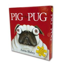 Pig the Pug PB + Jigsaw Set by Aaron Blabey
