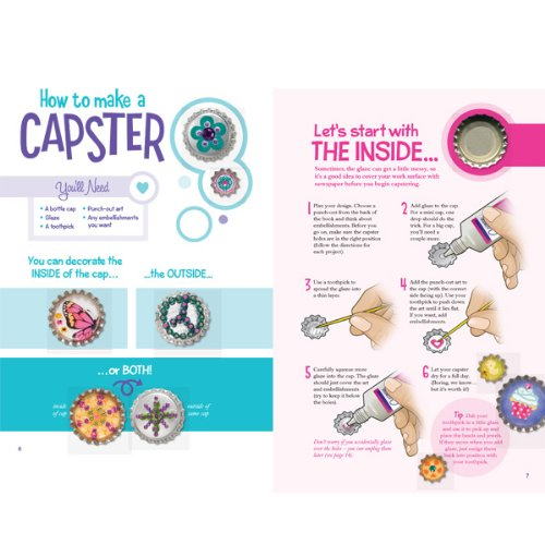 Mini Capsters Jewelry: Turn Bottle Caps Into Wearable Art