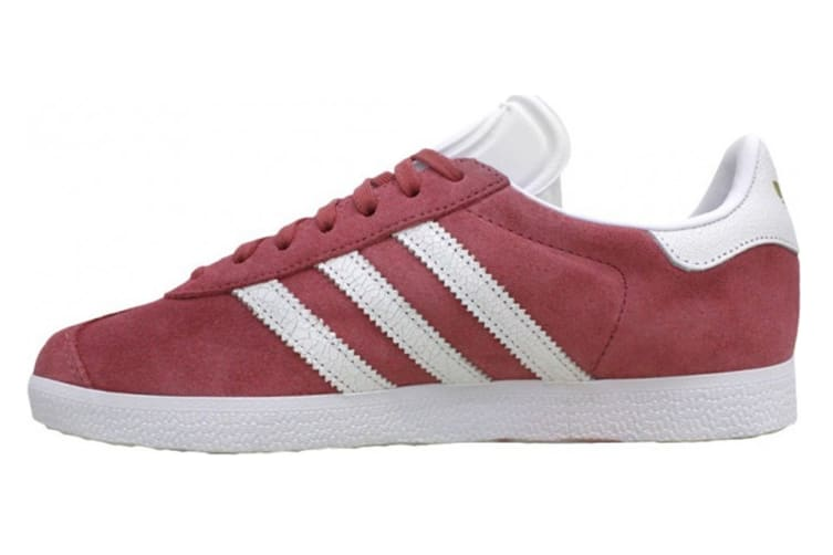 Adidas Originals Women's Gazelle Shoes (Maroon/White)
