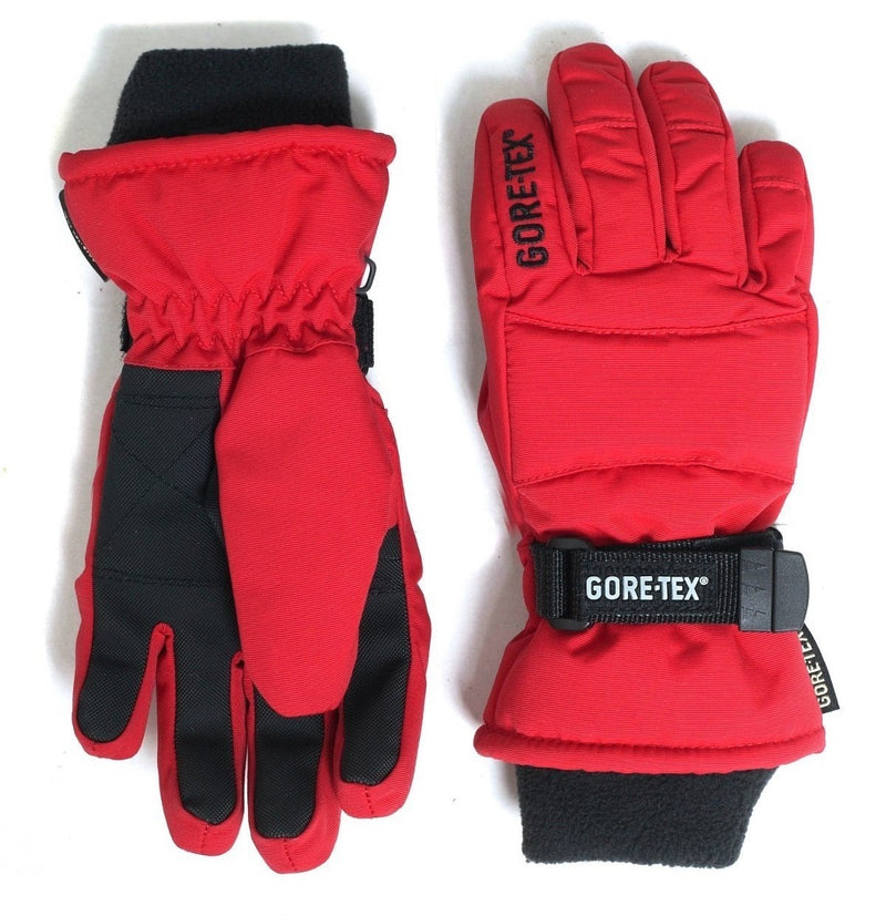 GORE-TEX Kids Snow Gloves -  Red
