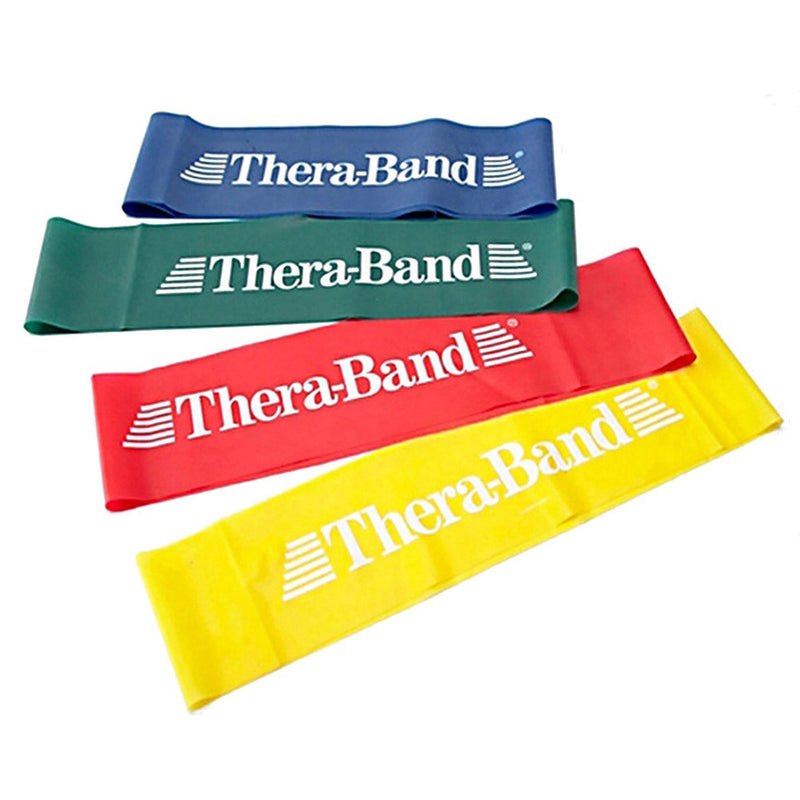 THERABAND PROFESSIONAL LATEX RESISTANCE BAND LOOP - 8 INCH