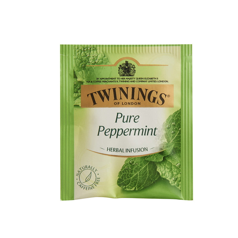 Twinings Tea Bags Pure Peppermint -Individually Enveloped 100 tea bags