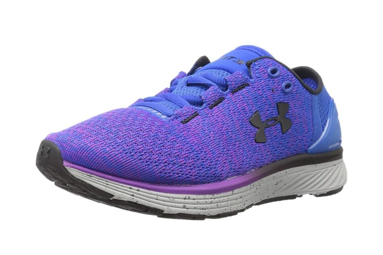 Under Armour Women's Charged Bandit 3 Running Shoe (Ultra Blue/Purple Rave)