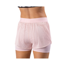 FIRST EVER  Women's Double Layer Short Blush