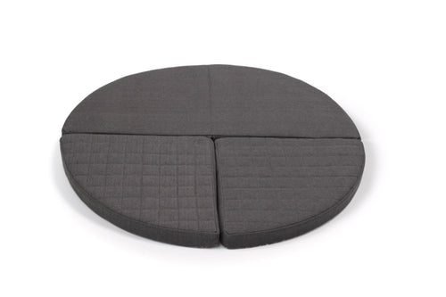 Circle - Happy Play Foam Furniture - Dark Grey - 1. generation
