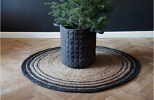 Load image into Gallery viewer, Millie Quiltet Basket - Dark Grey