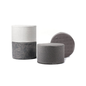 Cylinder - Happy Play - Light Grey - Solid