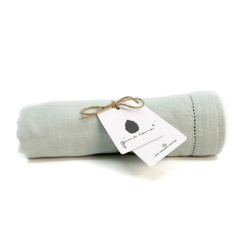 Lola Baby Swaddle - Organic Cotton - Mint