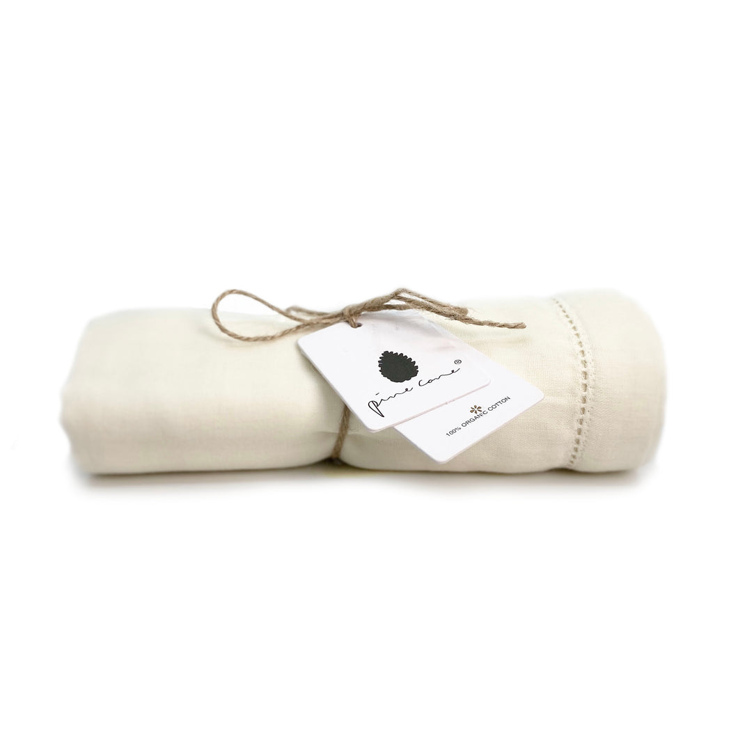 Lola Baby Swaddle - Organic Cotton - Salt