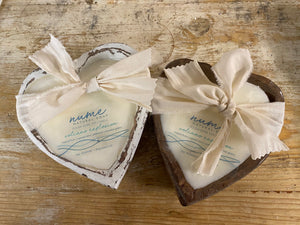 Sweet Heart Dough Bowl Candles