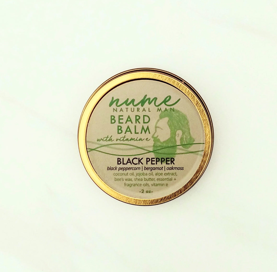 Premium Gold All Natural Beard Balm