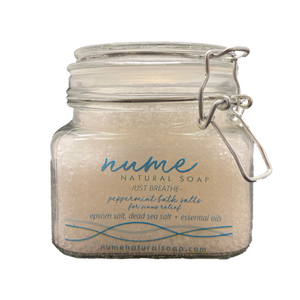 """Just Breath"" Peppermint Bath Salts"