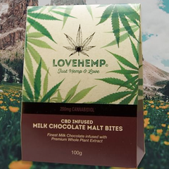 Love Hemp CBD Chocolates 200mg