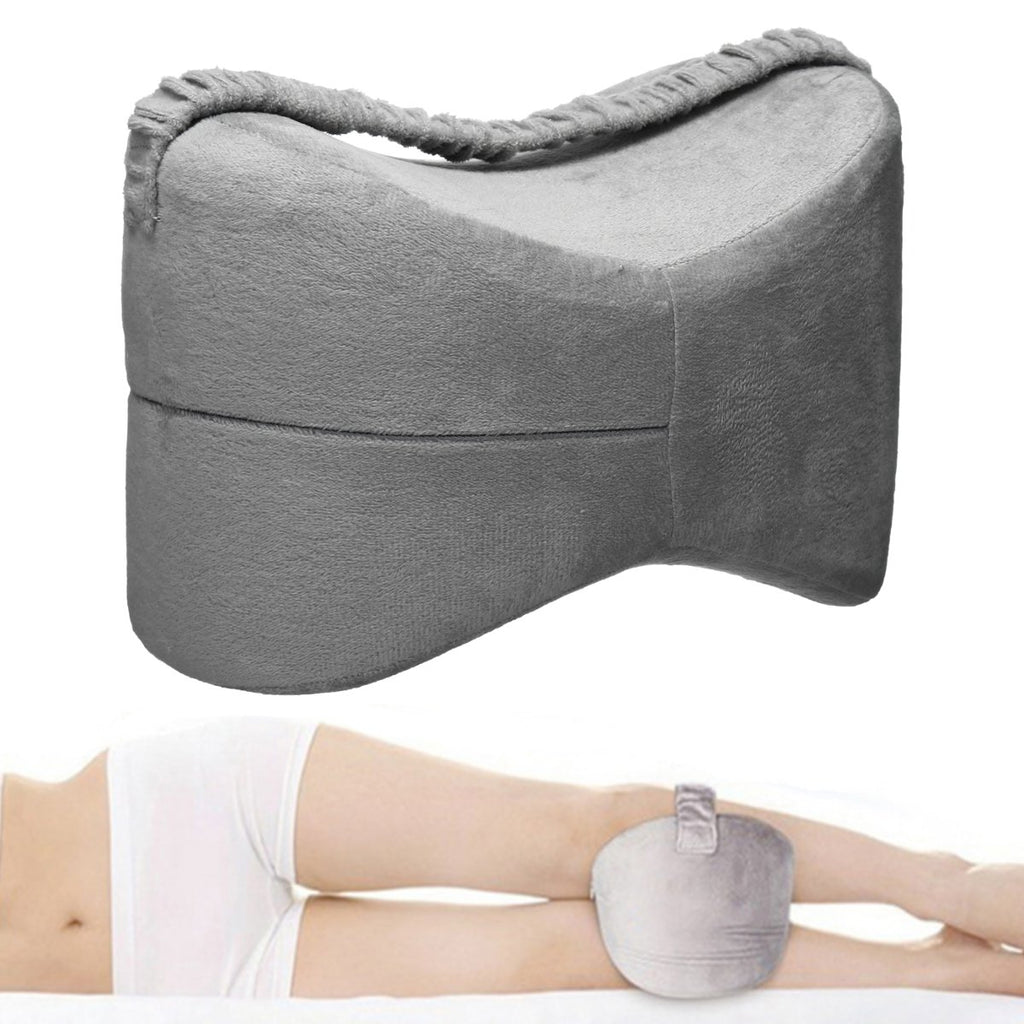 Memory Foam Leg Pillow Fatigue Relief Back Hips Knee Support Cushion Pillow