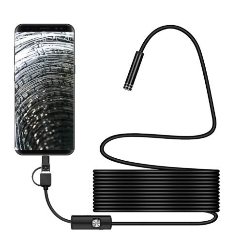3 in 1 Waterproof USB Endoscope Camera for Android - Mac - PC 5M