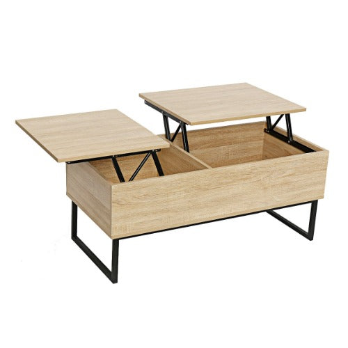 Lift Top Coffee Table Dual Lift with Modern style