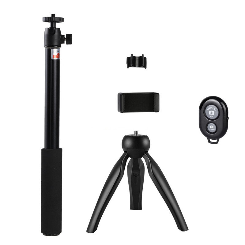 Mini Bluetooth Tripod Selfie Stick for iOS and Android