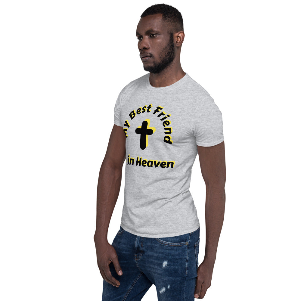 T-Shirt Unisex My Best Friend is in Heaven - Light