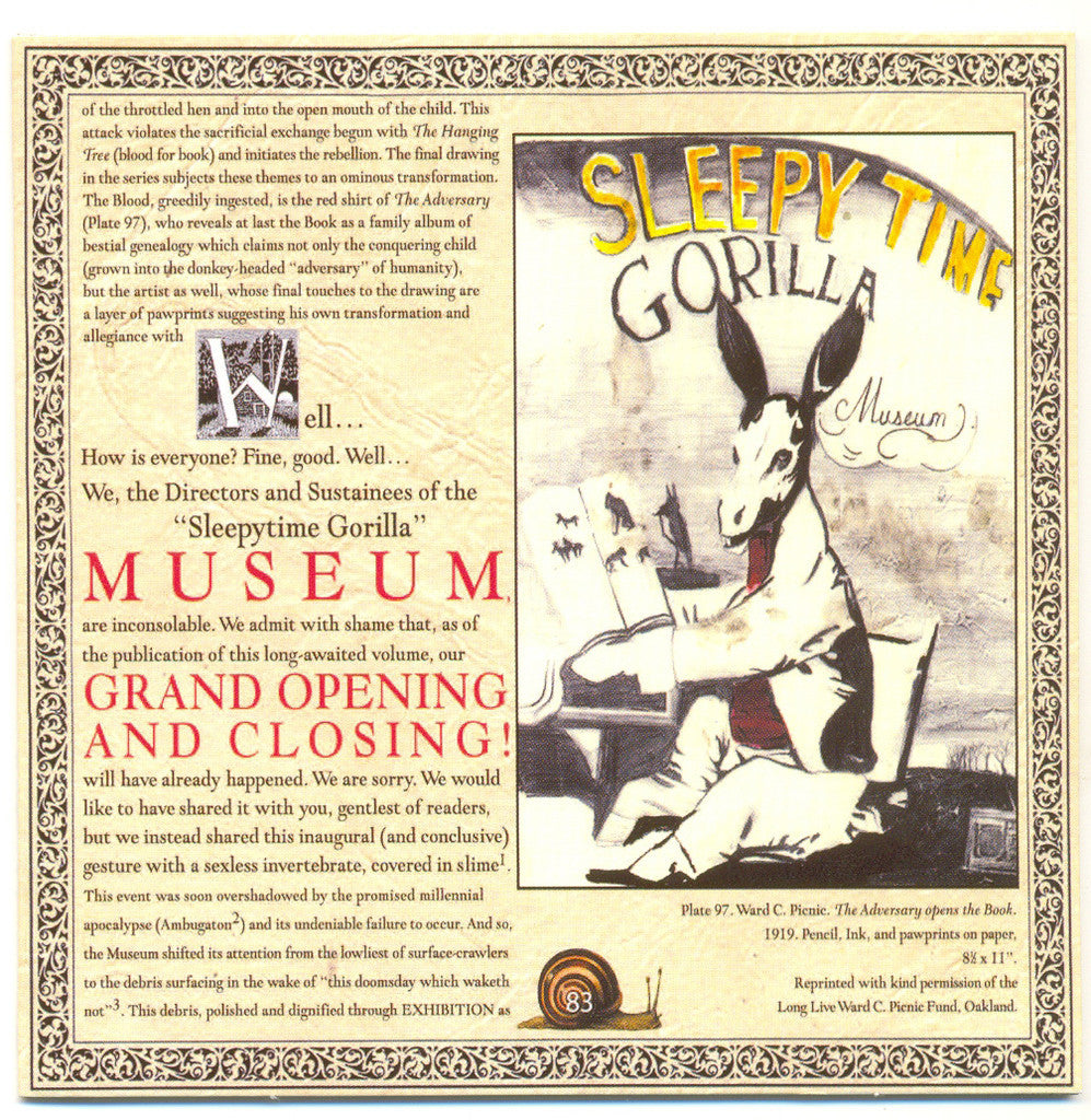 Sleepytime Gorilla Museum - Grand Opening & Closing (CD)