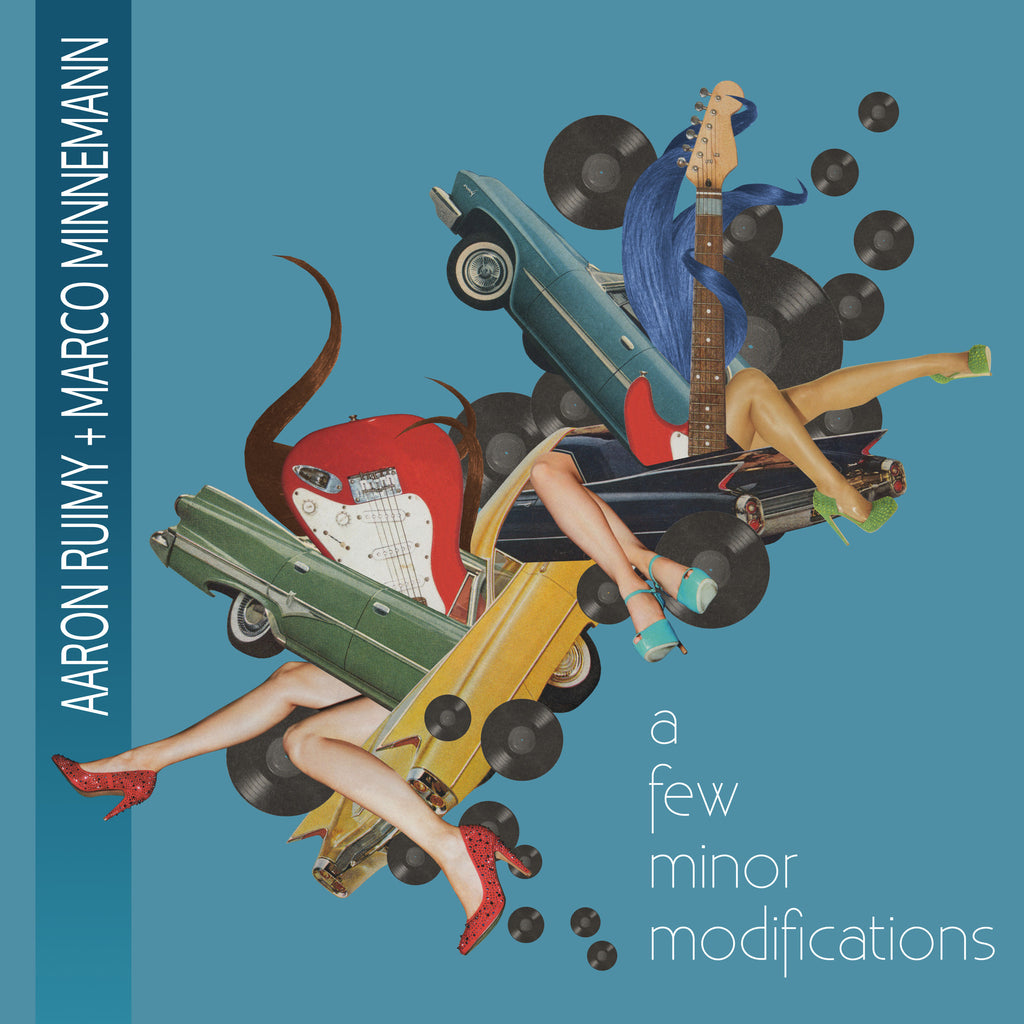 Aaron Ruimy + Marco Minnemann: A Few Minor Modifications (CD)