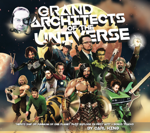 CARL KING: Grand Architects Of The Universe (DIGITAL DOWNLOAD)