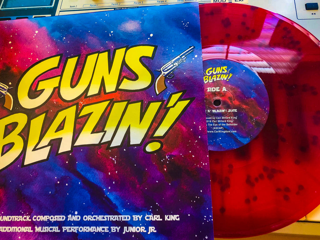 Carl King: Guns A' Blazin' Orchestral Suite (VINYL)