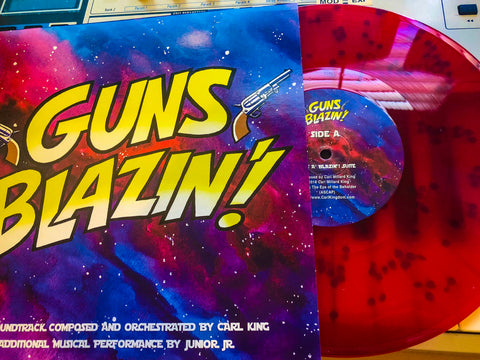 Carl King: Guns A' Blazin' Comic Book Score (VINYL)