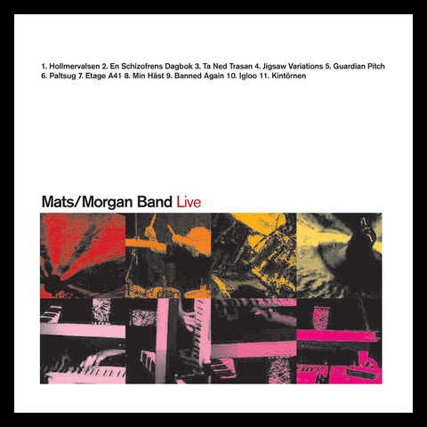 Mats / Morgan Band: Live (CD)
