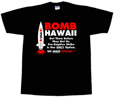 "Sir Millard Mulch: ""Bomb Hawaii"" T-Shirt"