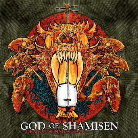 God of Shamisen - Dragon String Attack (CD)