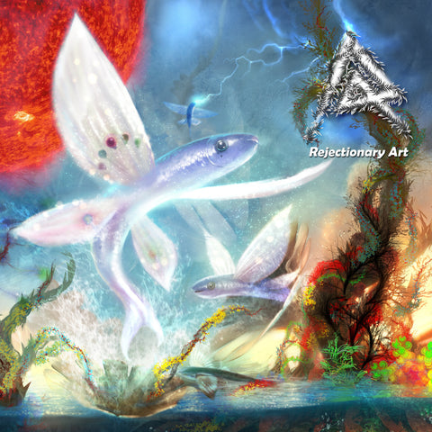 Rejectionary Art - Exocoetidae: Flying Fish (DIGITAL DOWNLOAD)