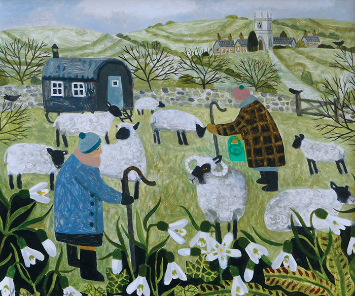 Shepherds and Snowdrops
