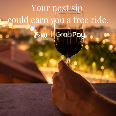 Earn double Grab reward points by paying with GrabPay.