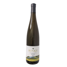 "Load image into Gallery viewer, Cultivated on the steep slope plots in ""grand cru"" vineyards on the Saar featuring slate soil.          2015, Dry, 750ml  A Riesling from the Southern Moselle region of Germany. The juice is aged in stainless steels vats. Smokey with a refreshing. The palate is reminiscent of grapefruit and lime.   Riesling 10 - 12°C  Up to 10 years Drink with pork knuckle, prawn noodles and chicken rice.  Relaxed"