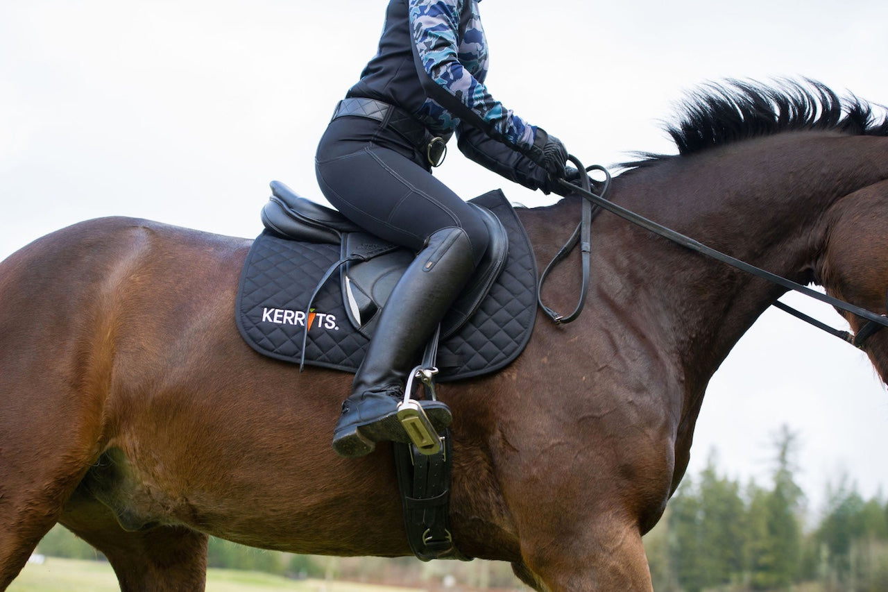 Rider wearing breeches